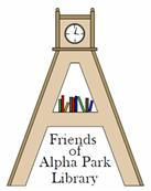 Friends of Alpha Park Public Library logo